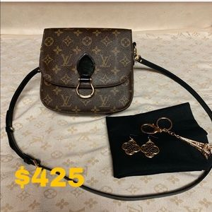SOLD Louis Vuitton Saint Cloud GM Crossbody Bag❤️